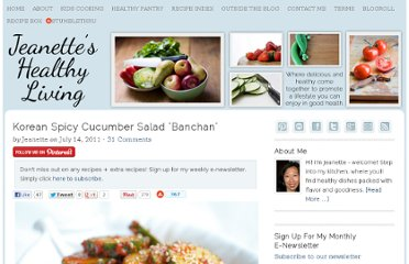 http://jeanetteshealthyliving.com/2011/07/korean-spicy-cucumber-salad-banchan.html