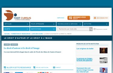 http://cursus.edu/institutions-formations-ressources/formation/17668/droit-auteur-droit-image/