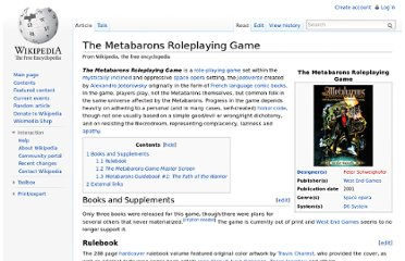 http://en.wikipedia.org/wiki/The_Metabarons_Roleplaying_Game