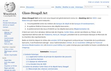 http://fr.wikipedia.org/wiki/Glass-Steagall_Act