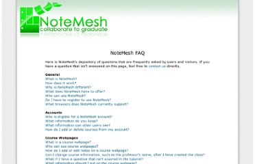 http://www.notemesh.com/?a=faq