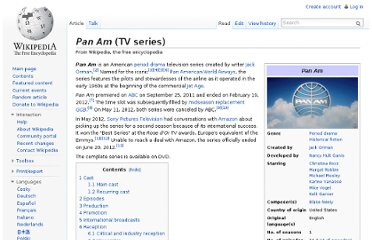 http://en.wikipedia.org/wiki/Pan_Am_(TV_series)