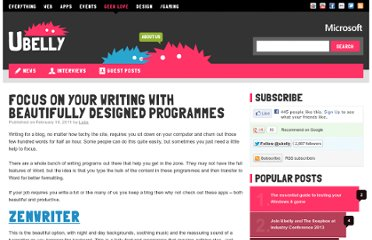 http://www.ubelly.com/2011/02/focus-on-your-writing-with-beautifully-designed-programmes/