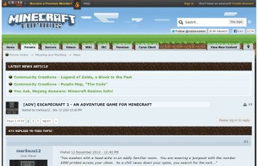 http://www.minecraftforum.net/topic/78480-adv-escapecraft-2-an-adventure-game-for-minecraft/