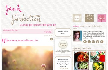 http://www.pinkofperfection.com/2011/10/where-does-your-brilliance-lie/