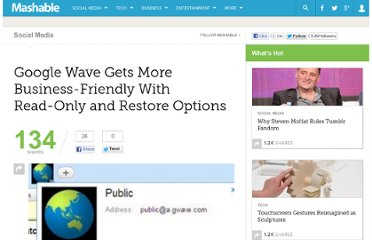 http://mashable.com/2010/01/21/google-wave-read-only/
