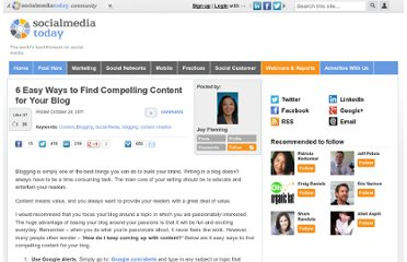 http://socialmediatoday.com/joy-fleming/381183/6-easy-ways-find-compelling-content-your-blog