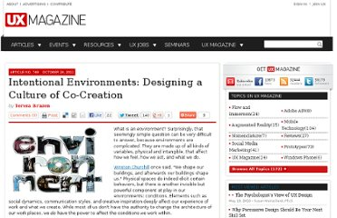 http://uxmag.com/articles/intentional-environments-designing-a-culture-of-co-creation