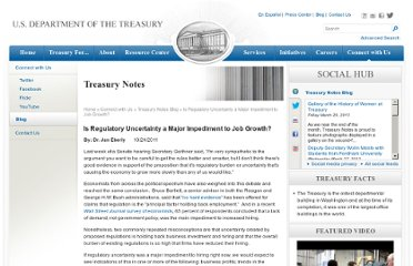 http://www.treasury.gov/connect/blog/Pages/Is-Regulatory-Uncertainty-a-Major-Impediment-to-Job-Growth.aspx