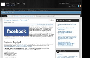 http://www.webmarketing-conseil.fr/blog/1-derniers-articles-webmarketing/194-comment-contacter-le-support-client-facebook-.html