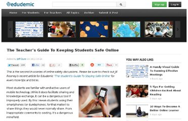 http://edudemic.com/2011/10/student-online-safety-guide/