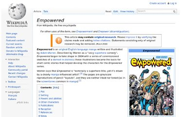 http://en.wikipedia.org/wiki/Empowered