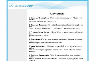 http://www.enterprisecorp.com/resources/assessment.htm