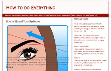 http://howtodoeverythingonyourown.blogspot.com/2011/10/how-to-thread-your-eyebrows.html