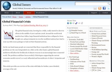 http://www.globalissues.org/article/768/global-financial-crisis