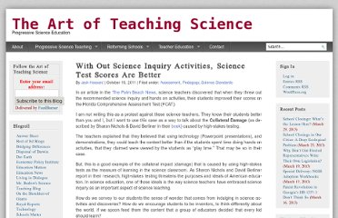 http://www.artofteachingscience.org/2011/10/16/with-out-science-inquiry-activities-science-test-scores-are-better/