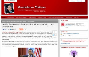 http://mandelman.ml-implode.com/2011/10/inside-the-obama-administration-with-ezra-klein-%e2%80%a6-and-mandelman/