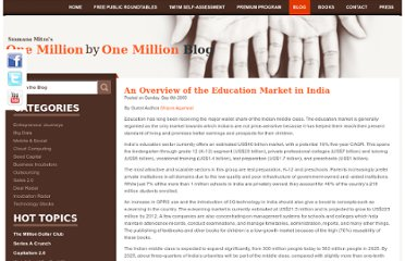http://www.sramanamitra.com/2009/09/06/an-overview-of-the-education-market-in-india/