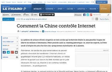 http://www.lefigaro.fr/international/2010/01/22/01003-20100122ARTFIG00001-comment-la-chine-controle-internet-.php