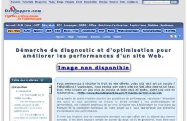 http://thecodingmachine.developpez.com/tutoriels/web/demarche-diagnostic-et-optimisation-pour-ameliorer-performance-site-web/