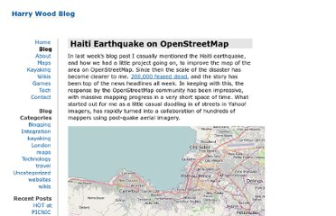 http://www.harrywood.co.uk/blog/2010/01/21/haiti-earthquake-on-openstreetmap/