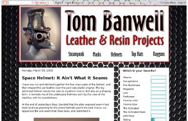 http://tombanwell.blogspot.com/2009/03/space-helmet-it-aint-what-it-seams.html