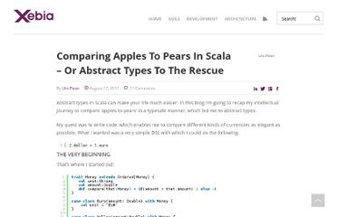http://blog.xebia.com/2011/08/17/comparing-apples-to-pears-in-scala-or-abstract-types-to-the-rescue/
