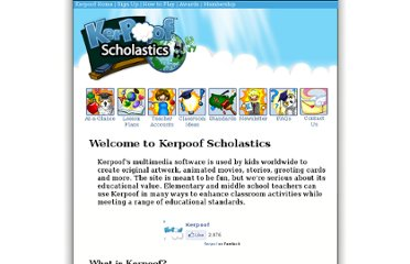 http://www.kerpoof.com/teach?c=overview