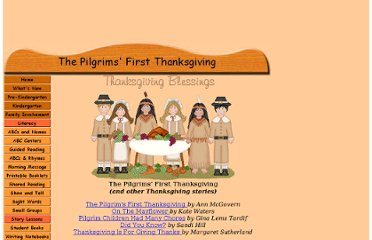 http://www.hubbardscupboard.org/the_pilgrims__first_thanksgivi.html#PilgrimsFirstThanksgiving