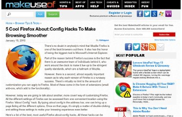 http://www.makeuseof.com/tag/top-5-aboutconfig-hacks-firefox-browsing-smoother/