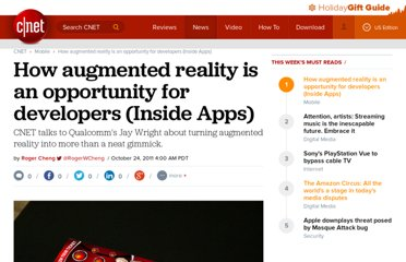 http://news.cnet.com/8301-1035_3-20124061-94/how-augmented-reality-is-an-opportunity-for-developers-inside-apps/