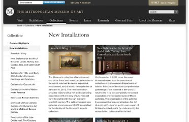 http://www.metmuseum.org/collections/new-installations