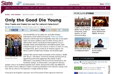 http://www.slate.com/articles/arts/dvdextras/2004/04/only_the_good_die_young.html