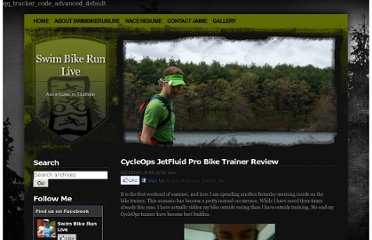 http://swimbikerunlive.com/2011/06/cycleops-jetfluid-pro-bike-trainer-review/