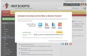 http://www.hotscripts.com/category/scripts/flash/
