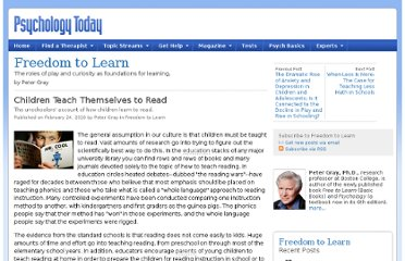 http://www.psychologytoday.com/blog/freedom-learn/201002/children-teach-themselves-read