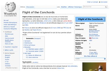 http://fr.wikipedia.org/wiki/Flight_of_the_Conchords