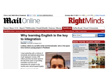 http://www.dailymail.co.uk/debate/article-2052958/Why-learning-English-key-integration.html