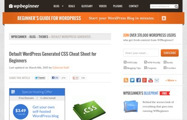 http://www.wpbeginner.com/wp-themes/default-wordpress-generated-css-cheat-sheet-for-beginners/