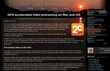 http://www.sunsetlakesoftware.com/2010/10/22/gpu-accelerated-video-processing-mac-and-ios