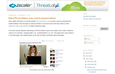 http://research.zscaler.com/2011/10/naked-emma-watson-video-used-to-spread.html