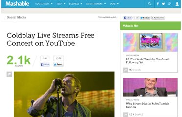 http://mashable.com/2011/10/26/coldplay-livestream-youtube/