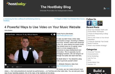 http://blog.hostbaby.com/2011/10/4-powerful-ways-to-use-video-on-your-music-website/