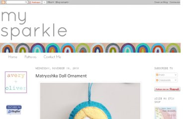 http://mysparkle.blogspot.com/2010/11/matryoshka-doll-ornament.html