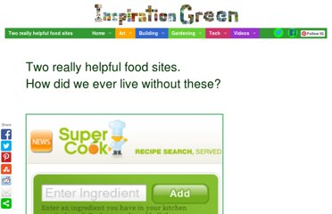http://www.inspirationgreen.com/two-really-helpful-food-sites.html