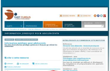 http://cursus.edu/institutions-formations-ressources/formation/17667/information-juridique-pour-adolescents/