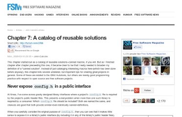 http://www.freesoftwaremagazine.com/books/agaal/catalog_of_reusable_solutions#