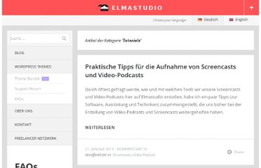 http://www.elmastudio.de/category/tutorials/