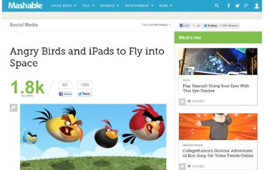 http://mashable.com/2011/10/27/angry-birds-and-ipads-to-fly-into-space/
