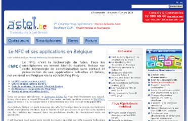 http://www.astel.be/Le-NFC-et-ses-applications-en-Belgique_3925#.Tqknu40snzo.twitter